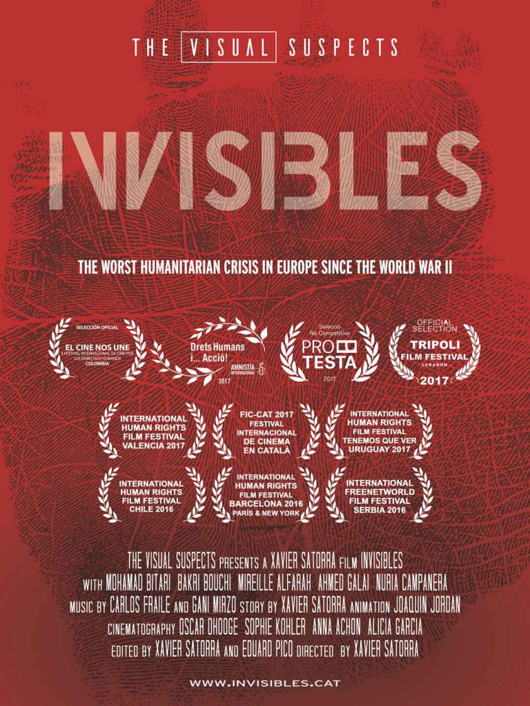 The Invisibles poster-worst human crisis