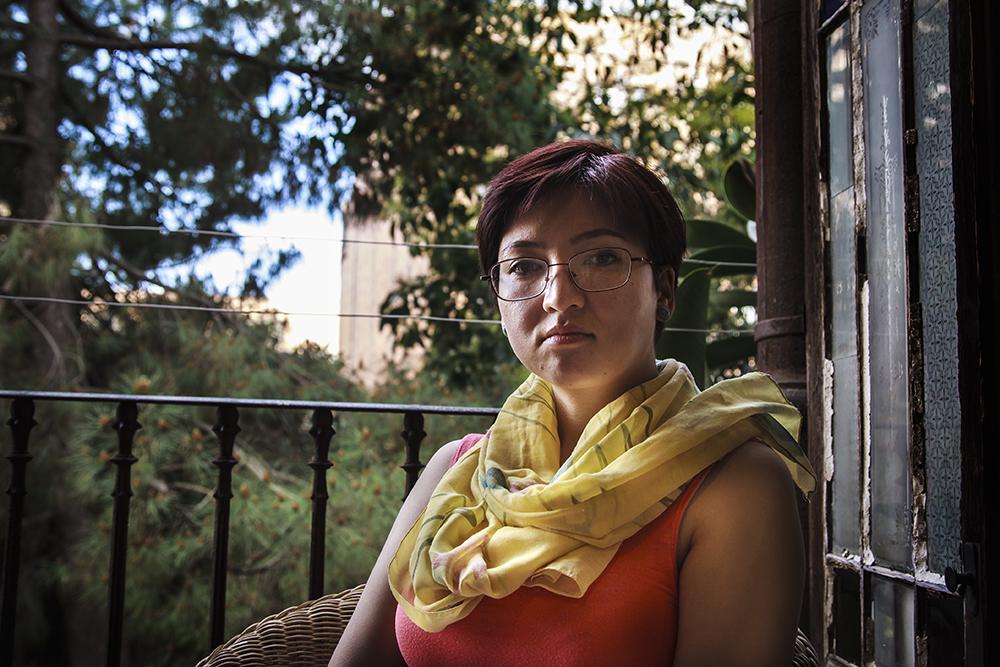 Rostros portrait refugee retrato